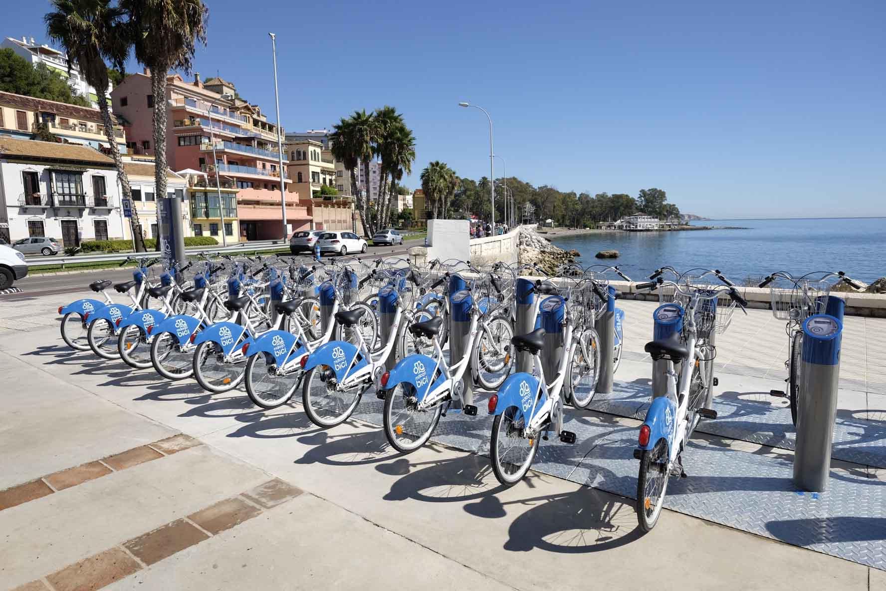 Rutas de bicicleta por Málaga