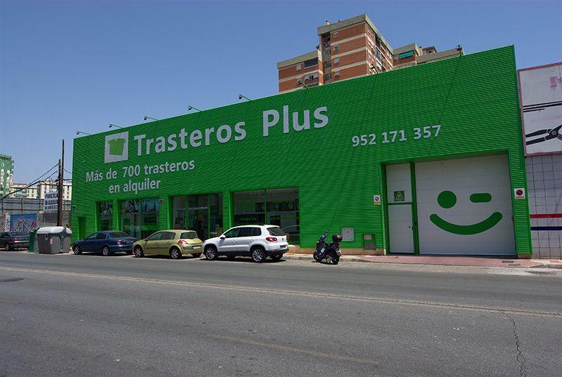 Fachada Guindos Trasteros Plus