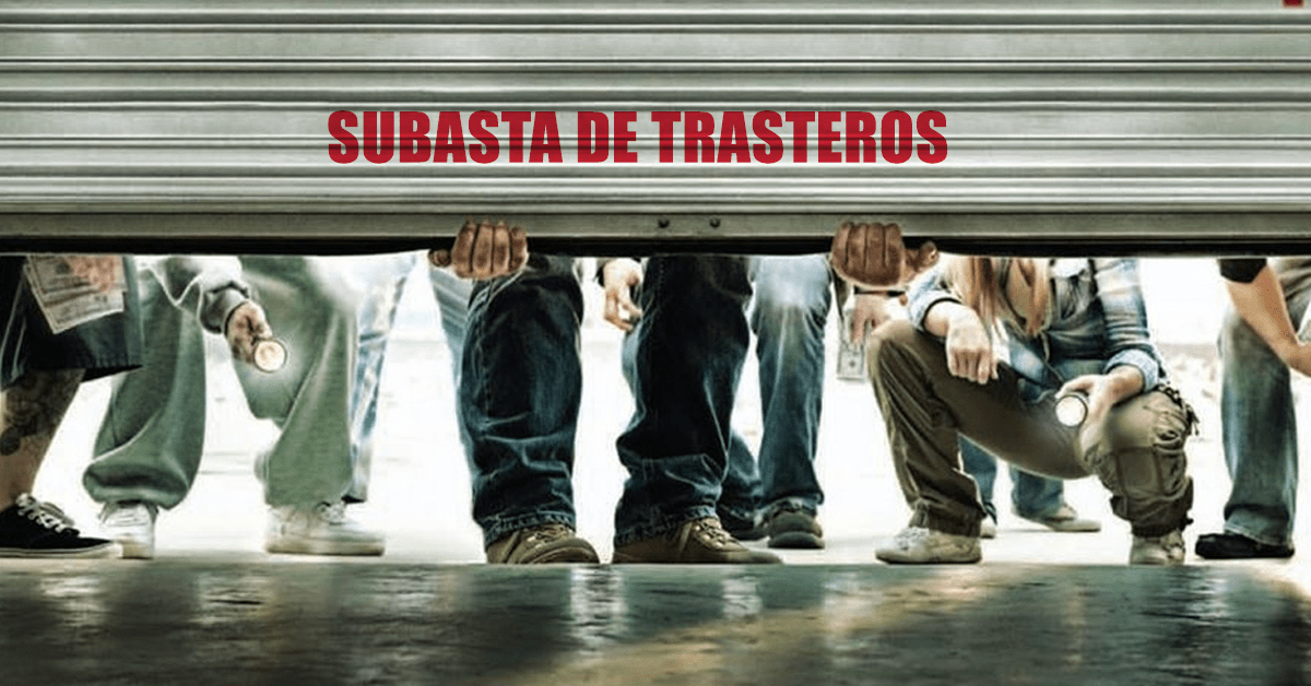 Subasta solidaria de Trasteros