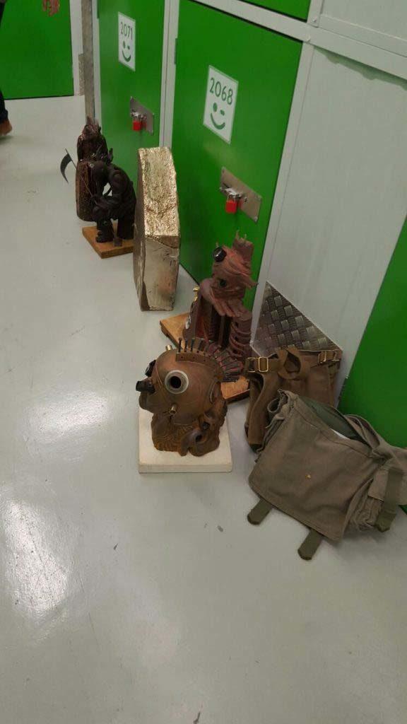 cabin artist escultura